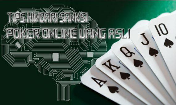 Hindari Sanksi Dalam Game Poker Online